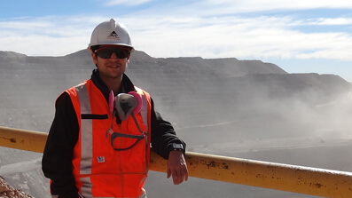 CRC ORE student takes up role with BHP in Chile