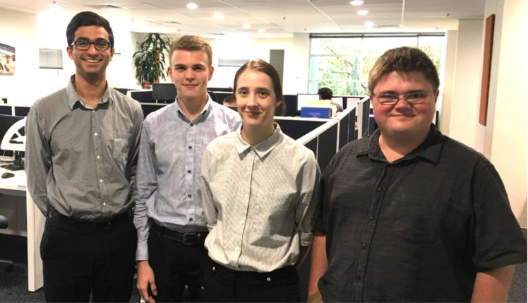 Four undergraduates complete CRC ORE intern program